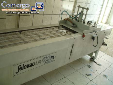 Blister display thermoforming machine Selovac