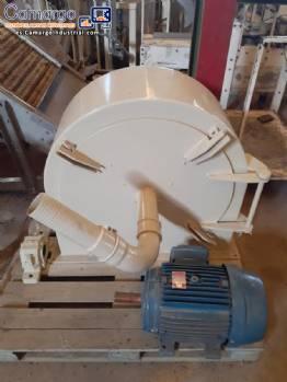Molino de martillos industrial 800 kg h Tigre