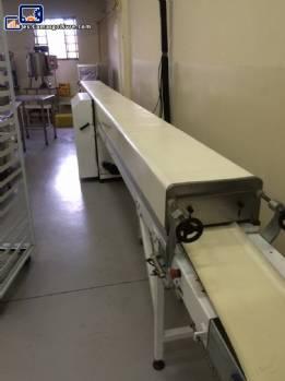 Túnel de refrigeración de chocolate con cobrideira Piróg