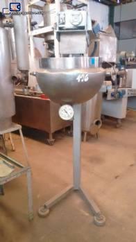 Bandeja de acero inoxidable para 30 litros