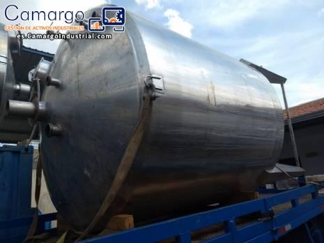 Tanque de acero inoxidable 316 10.000 L