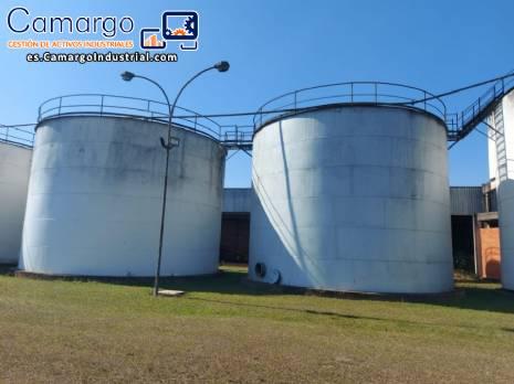 Tanque de almacenamiento de acero al carbono 600 mil litros