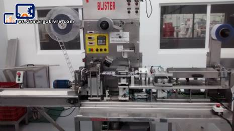 Termoformadora automática de llenado y ampolla tapadora