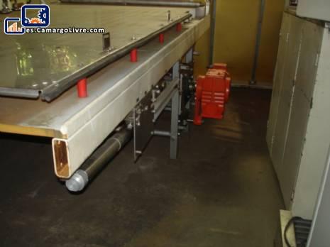 Túnel de enfriamiento de marca Sollich