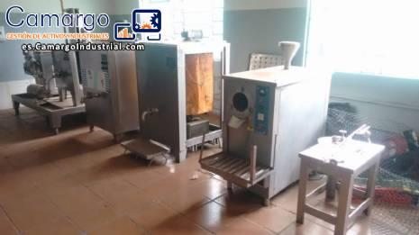 Línea para producción de helados de pasta R.Camargo