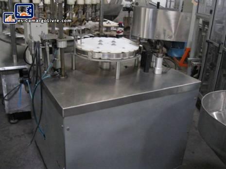Pistones de relleno de líquido 3 semiautomáticos - N