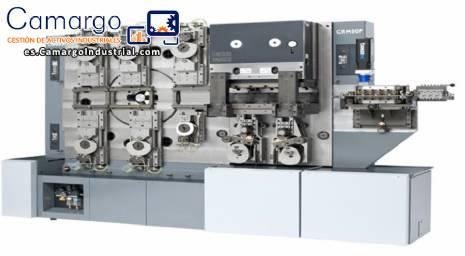 Máquinas para doblado y sellado de piezas y perfiles de aluminio y plástico