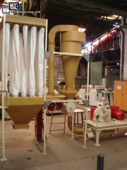 Sistema y filtro de molienda de azúcar Netzsch